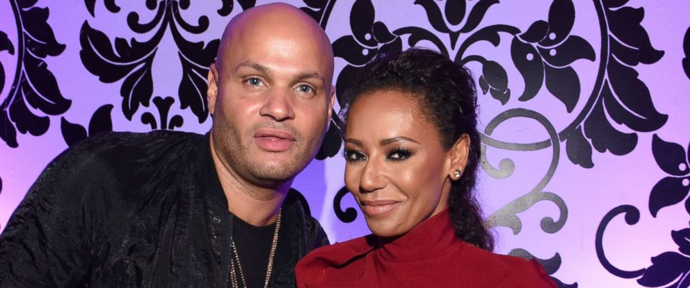 PHOTO: Stephen Belafonte and Mel B attend an event in Los Angeles, July 30, 2016.