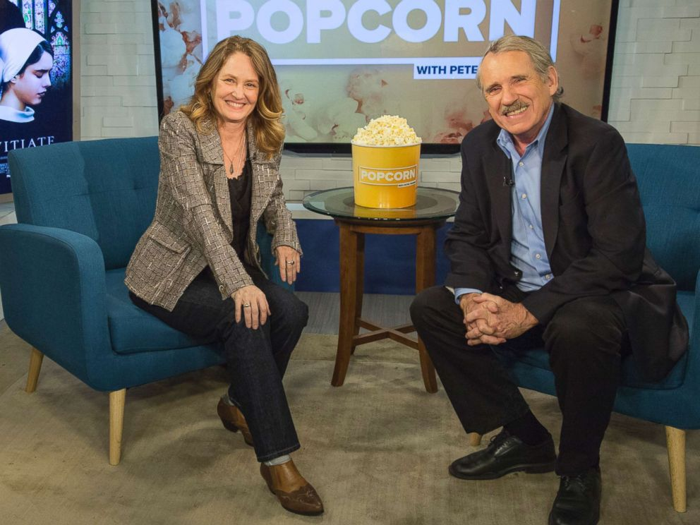 PHOTO: Melissa Leo appears on Popcorn with Peter Travers at ABC News studios, Oct. 25, 2017, in New York City.