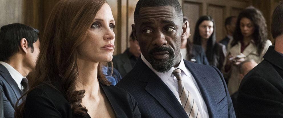 PHOTO: Jessica Chastain and Idris Elba in Mollys Game.