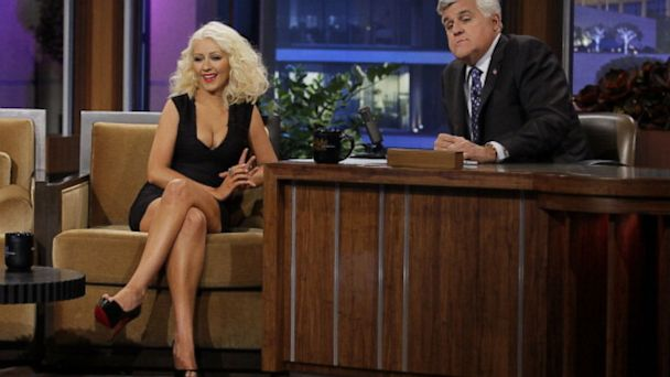 nbc christina aguilera jay leno thg 130919 16x9 608 Christina Aguilera Looks Fit and Feels Sexier Than Ever