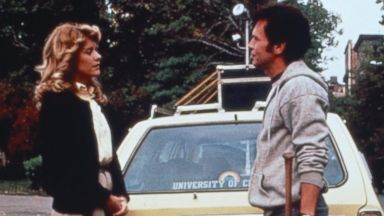 "PHOTO: Meg Ryan and Billy Crystal appear in a scene from the 1989 movie, ""When Harry Met Sally..."""