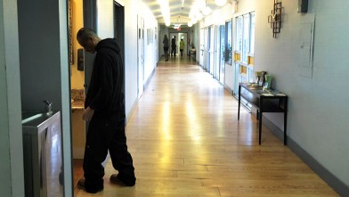 PHOTO: An interior hallway of the Pasadena Recovery Center is shown in this Oct. 20, 2010 file photo.