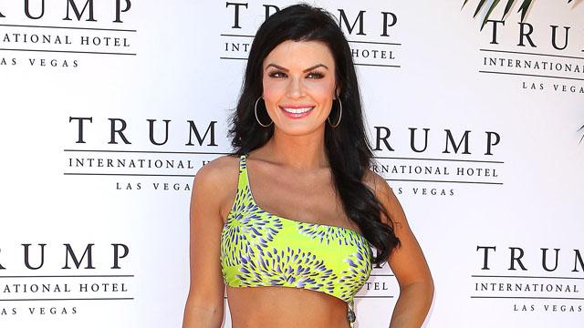 PHOTO: Miss Pennsylvania Sheena Monnin attends the Kooey Swimwear Fashion Show at the Trump International Ho