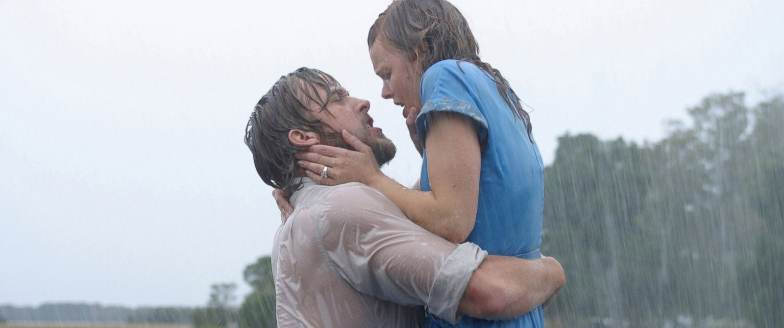 "PHOTO: Ryan Gosling and Rachel McAdams appear in ""The Notebook."""