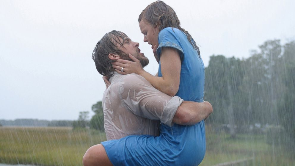 """PHOTO: Ryan Gosling and Rachel McAdams appear in """"The Notebook."""""""