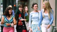 "PHOTO: From left, America Ferrera, Amber Tamblyn, Alexis Bledel and Blake Lively star in the movie ""The Sisterhood of the Traveling Pants."""