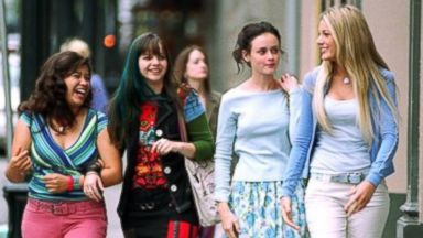 PHOTO: From left, America Ferrera, Amber Tamblyn, Alexis Bledel and Blake Lively star in the movie The Sisterhood of the Traveling Pants.