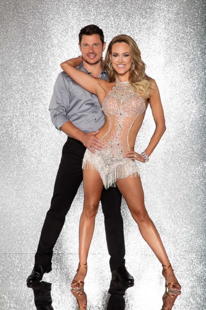 PHOTO: Nick Lachey and pro dancer Peta Murgatroyd will compete for the mirror ball title on the new season Dancing With The Stars.