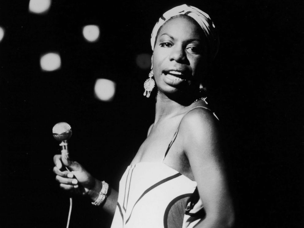 Getty Images American pianist and jazz singer Nina Simone performs Oct. 18 1964