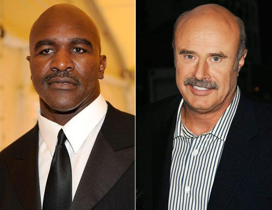 Holyfield Clashes Cancels Appearance With Dr. Phil