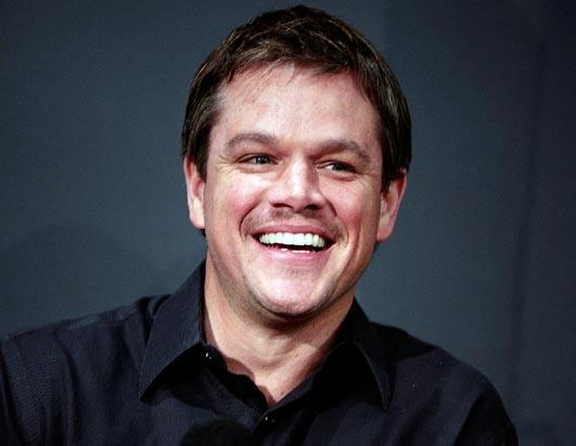 Are these famous men crossing the hairy line? Matt Damon