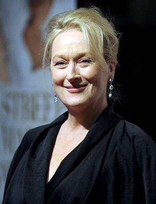 Hollywood for Haiti Meryl Streep