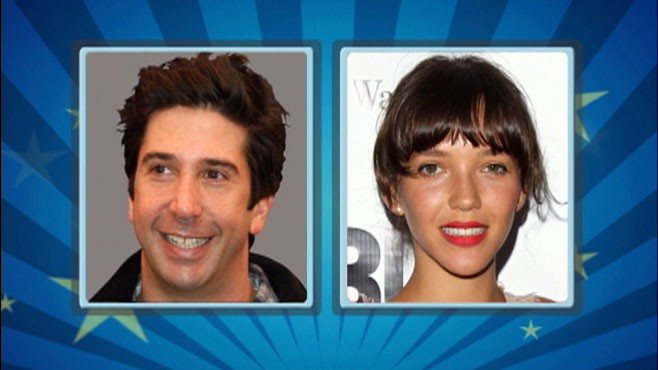 VIDEO: David Schwimmer and his wife are expecting their first child together.