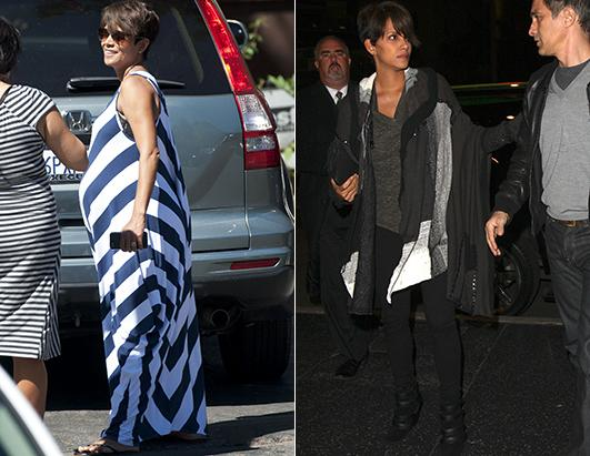 Halle Berry Debuts Her (Amazing!) Post-Baby Body!