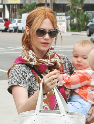 January Jones Becomes a Redhead