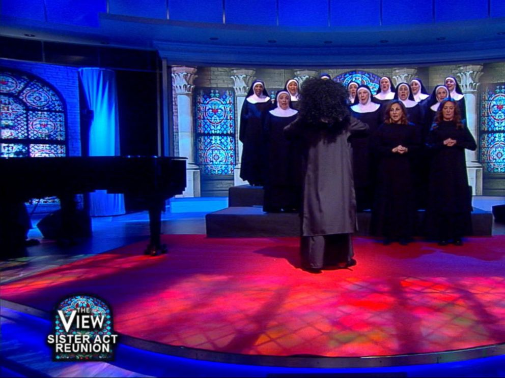 Watch! Whoopi Goldberg Celebrates Sister Act's 25th Anniversary with Cast Reunion