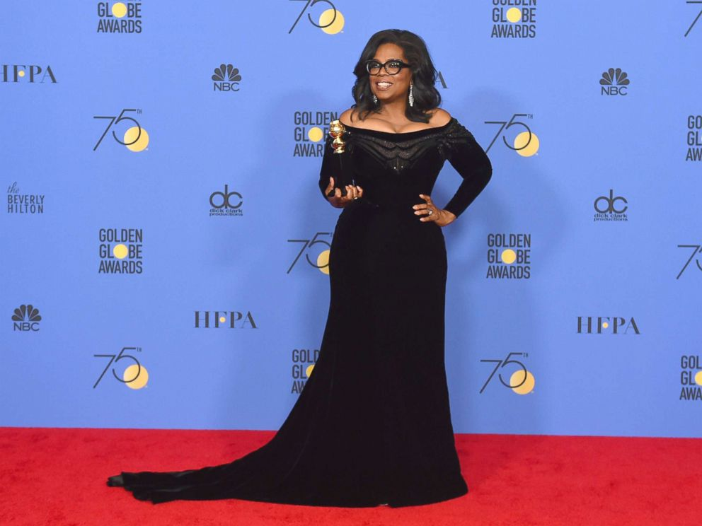 Is Oprah Winfrey 'actively thinking' about running for US President?