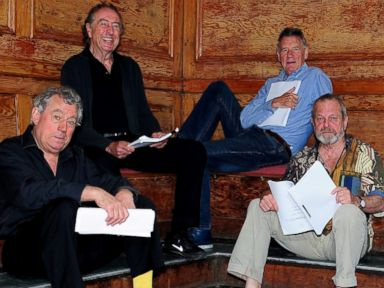 'Monty Python' Stars Reunite for Their First Day of Rehearsal