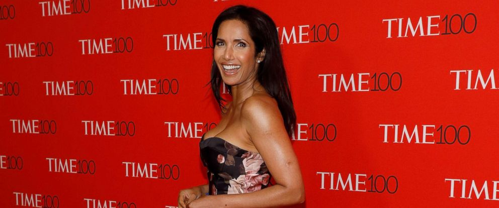 PHOTO: Padma Lakshmi attends the 2017 Time 100 Gala at Jazz at Lincoln Center, on April 25, 2017, in New York City.