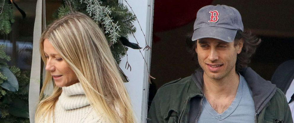 PHOTO: Gwyneth Paltrow and Brad Falchuk are seen on Dec. 10, 2016 in Los Angeles.