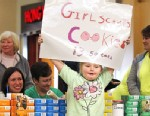 "PHOTO: ""Honey Boo Boo"" aka Alana Thompson helps her local Georgia Girl Scout Troop sell cookies at the Milledgeville Mall in Milledgeville, Georgia, March 3, 2013."
