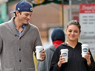 Photos: Ashton and Mila's Morning Date