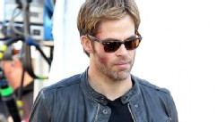 Why Chris Pine Is Sporting a Shiner
