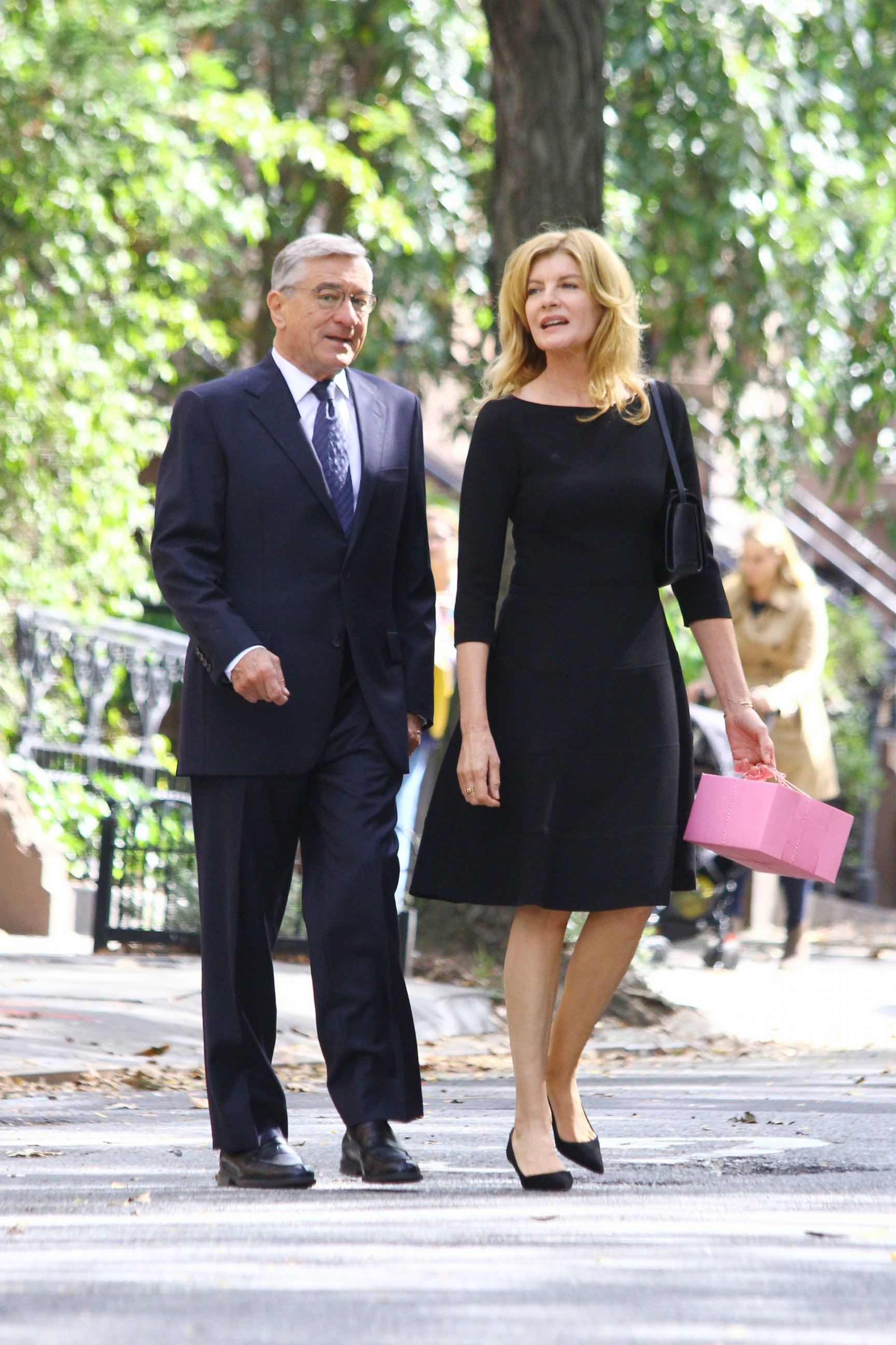 Renee Russo and Robert DeNiro Shoot a New Movie