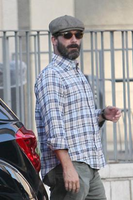 Jon Hamm's New Grizzly Look