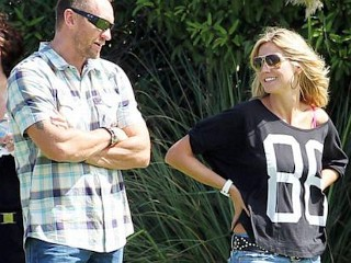 Photos: Heidi Hangs Out With Bodyguard