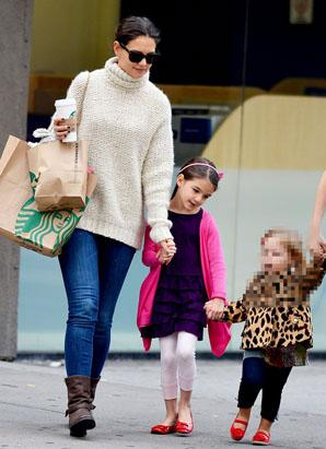 Suri Cruise Tackles Ballet
