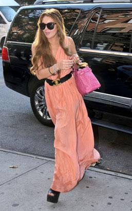 Lohan Over-Primps for Party