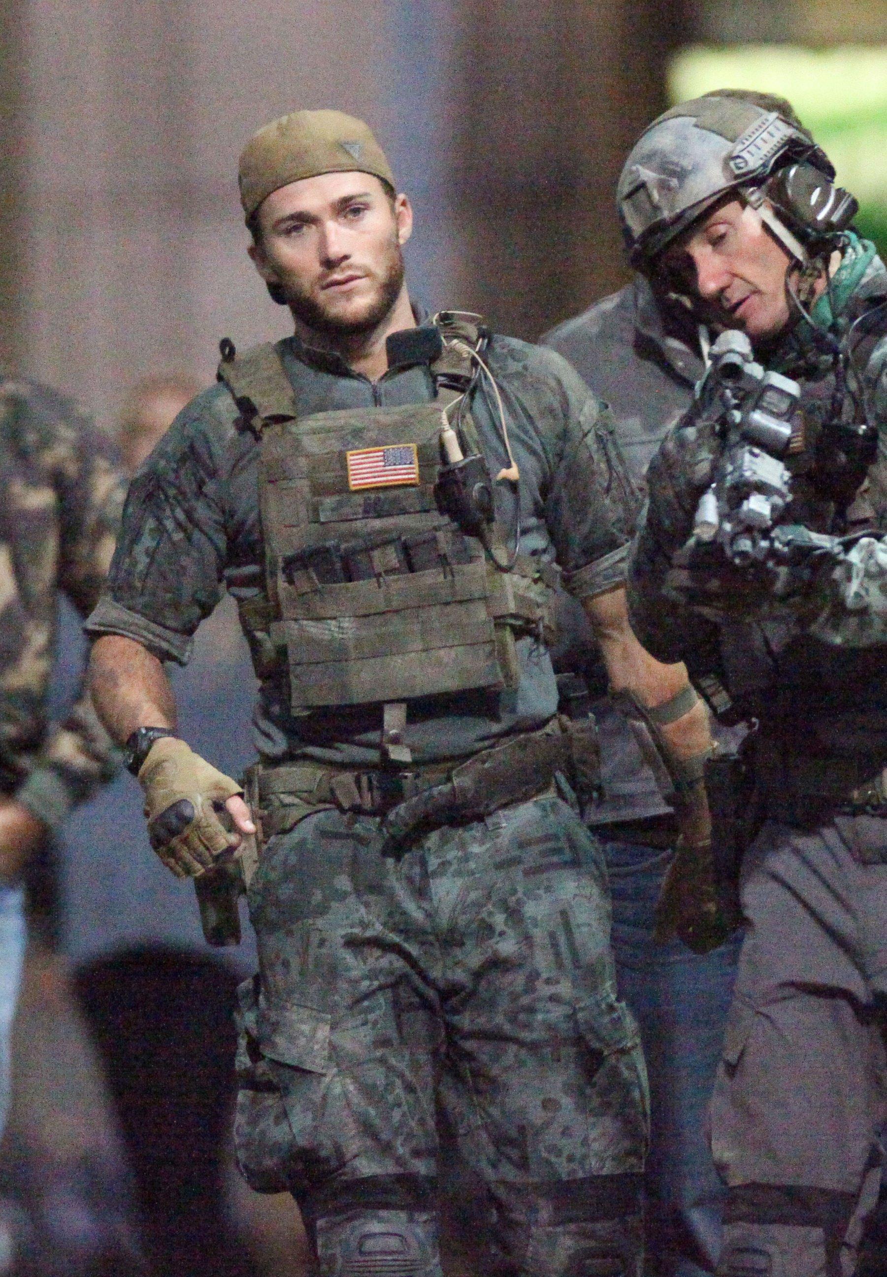 Scott Eastwood Films Suicide Squad