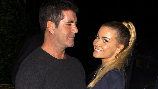 PHOTO:Simon Cowell and Carmen Electra are seen leaving Cecconi's restaurant in West Hollywood, Calif., Sept. 22, 2012.
