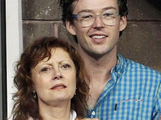 Photos: Love? Sarandon Takes in Tennis with Boy Toy