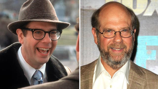 "PHOTO: Stephen Tobolowsky, left, in a scene from the movie, ""Groundhog Day."" Stephen Tobolowsky, right, arrives at the FOX All-Star Party, July 23, 2012, in West Hollywood, Calif."