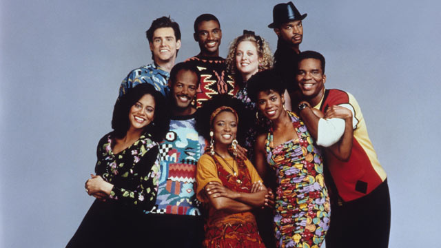PHOTO: The cast of the 1990's TV show &quot;In Living Color&quot; are seen here in this undated file photo.