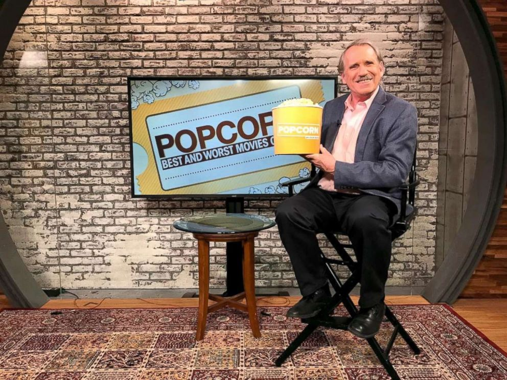 PHOTO: Film critic Peter Travers, who is host of Popcorn with Peter Travers at ABC News studios in New York City, Dec. 5, 2017.