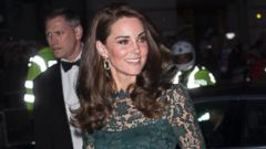 Duchess Kate attends a gala in London