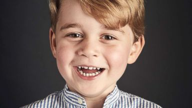 New photo of Prince George released for his 4th birthday