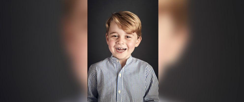 PHOTO: Prince George celebrates his fourth birthday, July 22, 2017.