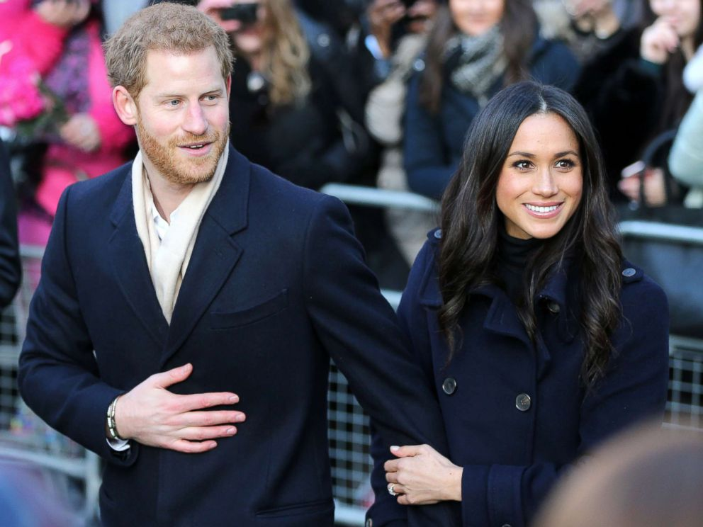 PHOTO: Britains Prince Harry and his fiancee, Meghan Markle visit the Terrence Higgins Trust World AIDS Day charity fair at the Nottingham Contemporary, in Nottingham, England, Dec. 1, 2017.
