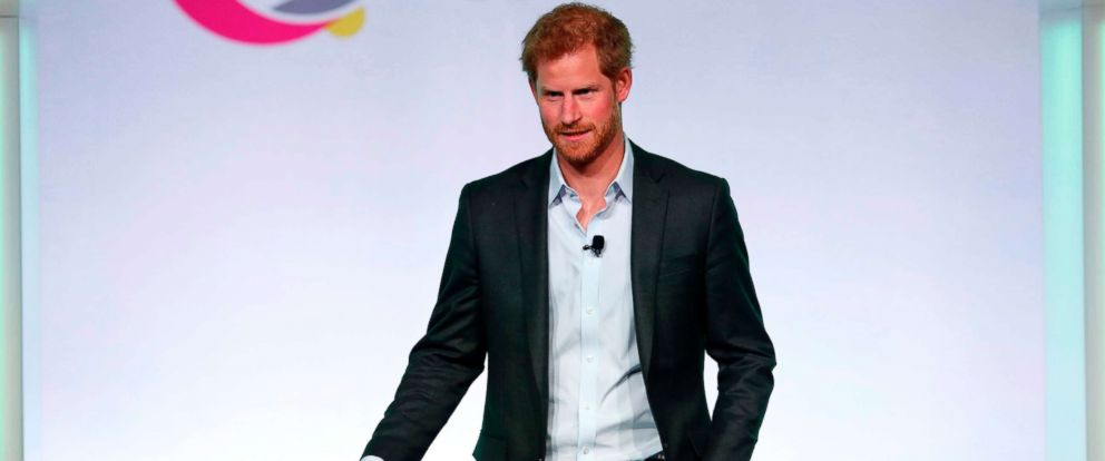 PHOTO: Britains Prince Harry arrives to speak at the Obama Foundation Summit in Chicago, Oct. 31, 2017.