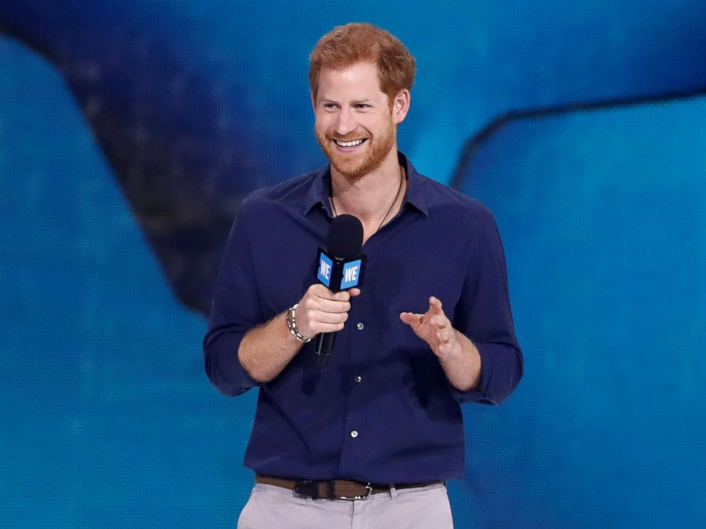 The moment a little girl steals Prince Harry's popcorn
