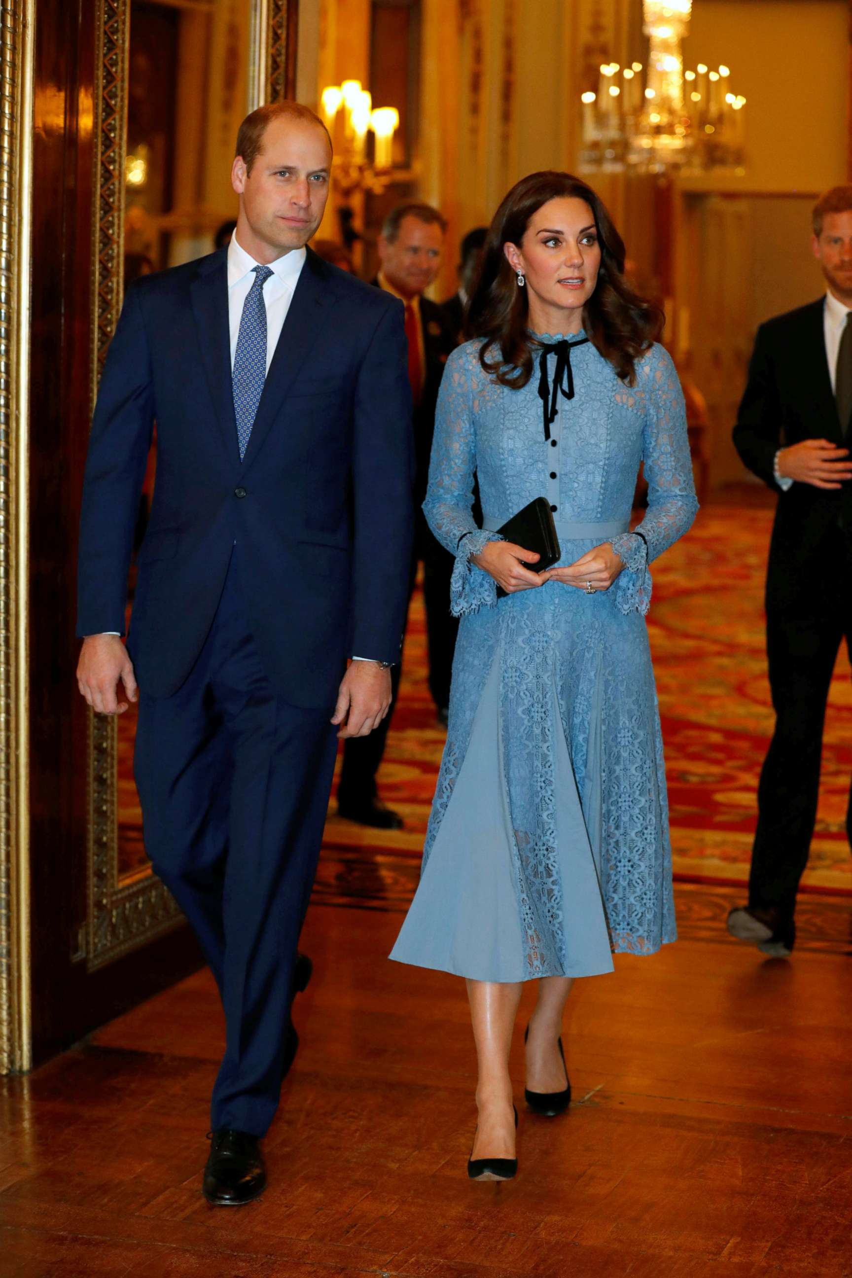 Britains Prince William, Catherine Duchess of Cambridge celebrate World Mental Health Day