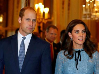 Britains Prince William, Catherine Duchess of Cambridge celebrate World Mental Health Day
