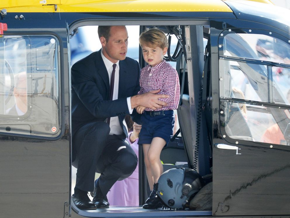 Prince William carries out his last shift for East Anglian Air Ambulance