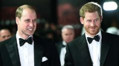 'PHOTO: Prince William and Prince Harry attend the European Premiere of Star Wars: The Last Jedi,1_b@b_1the Royal Albert Hall, London, Dec. 12, 2017.' from the web at 'http://a.abcnews.com/images/Entertainment/princes-rt-er-180111_16x9t_240.jpg'