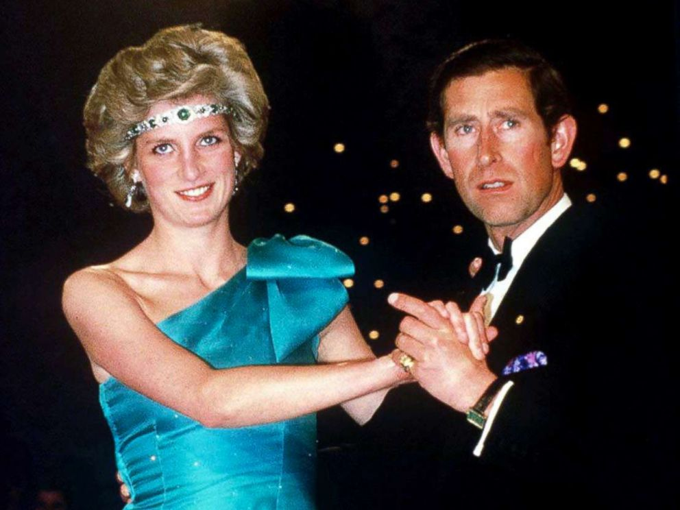 PHOTO: Prince Charles dancing with his wife, Princess Diana, during their official tour of Australia, Oct. 1, 1985, in Melbourne, Australia.