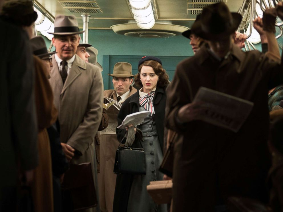 PHOTO: Rachel Brosnahan as Midge Maisel in the first season of Amazons The Marvelous Mrs. Maisel, 2017.